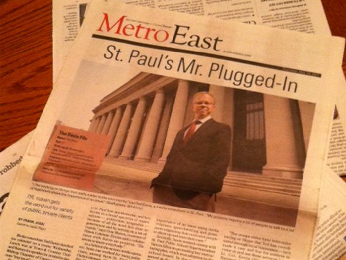 Davis Communications Principal Ted Davis featured in Capitol Report